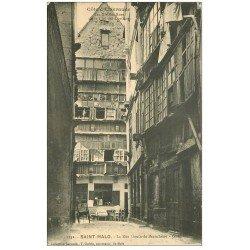 carte postale ancienne 35 SAINT-MALO. Rue Gouin-de-Beauchêne