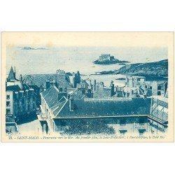 carte postale ancienne 35 SAINT-MALO. Sous-Préfecture