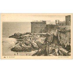 carte postale ancienne 35 SAINT-MALO. Tour Bidouane 15