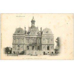 carte postale ancienne 35 SAINT-SERVAN. Hôtel de Ville vers 1900