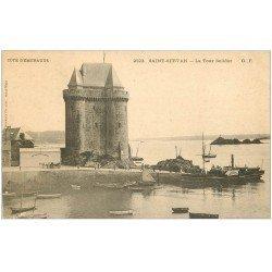 carte postale ancienne 35 SAINT-SERVAN. La Tour Solidor vers 1900. n°2523