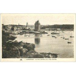 carte postale ancienne 35 SAINT-SERVAN. Port Saint-Père