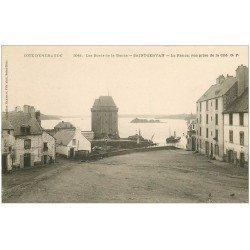 carte postale ancienne 35 SAINT-SERVAN. Rance et Cité