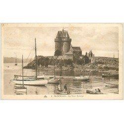 carte postale ancienne 35 SAINT-SERVAN. Tour Solidor vers 1933