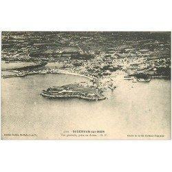carte postale ancienne 35 SAINT-SERVAN. Vue d'Avion 4399