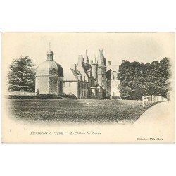 carte postale ancienne 35 VITRE environs. Château Rochers vers 1900 n°7