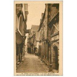 carte postale ancienne 35 VITRE. Rue Baudrairie