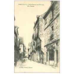 carte postale ancienne 35 VITRE. Rue Poterie