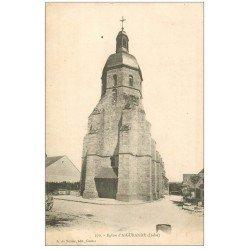 carte postale ancienne 36 AIGURANDE. Eglise