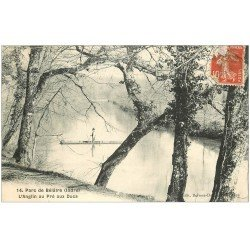 carte postale ancienne 36 ANGLIN AU PRE AUX DUCS. Parc Bélâtre 1908