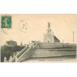 carte postale ancienne 36 ARGENTON. Chapelle 1911