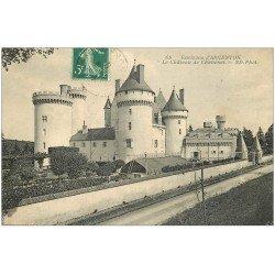 carte postale ancienne 36 ARGENTON. Château Chabenet 1910