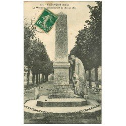 carte postale ancienne 36 BUZANCAIS. Monument 1911