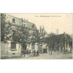 carte postale ancienne 36 CHATEAUROUX. Hôtel des Postes