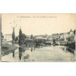 carte postale ancienne 36 CHATEAUROUX. Indre et Saint-Christophe 1923