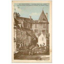 carte postale ancienne 36 CHATEAUROUX. La Vieille Prison