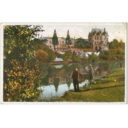 carte postale ancienne 36 CHATEAUROUX. Pêcheurs à la ligne