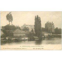 carte postale ancienne 36 CHATEAUROUX. Préfecture Château Raoul 1903
