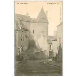 carte postale ancienne 36 CHATEAUROUX. Rue Vieille Prison