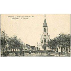 carte postale ancienne 36 ISSOUDUN. Basilique 1933