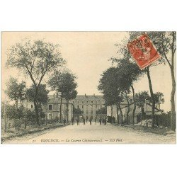 carte postale ancienne 36 ISSOUDUN. Caserne Châteaurenault 1909
