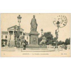 carte postale ancienne 36 ISSOUDUN. Fontaine