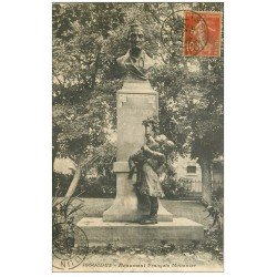 carte postale ancienne 36 ISSOUDUN. Monument Mousnier 1916