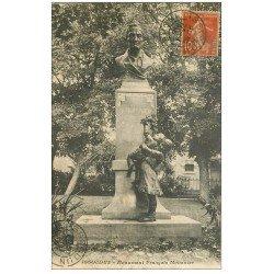 carte postale ancienne 36 ISSOUDUN. Monument Mousnier 1916