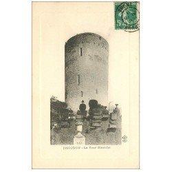 carte postale ancienne 36 ISSOUDUN. Tour Blanche 1911