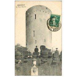 carte postale ancienne 36 ISSOUDUN. Tour Blanche 1912