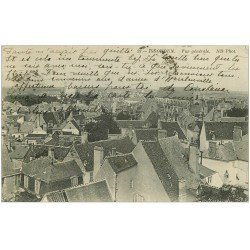 carte postale ancienne 36 ISSOUDUN. vue 1914