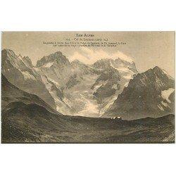 carte postale ancienne 05 LE LAUTARET. Glacier de l'Homme et de Tabuchet