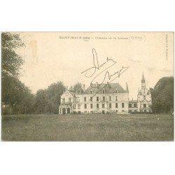 carte postale ancienne 36 SAINT-MAUR. Château de la Lienne