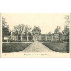 carte postale ancienne 36 VALENCAY. Château. Côté nord-ouest