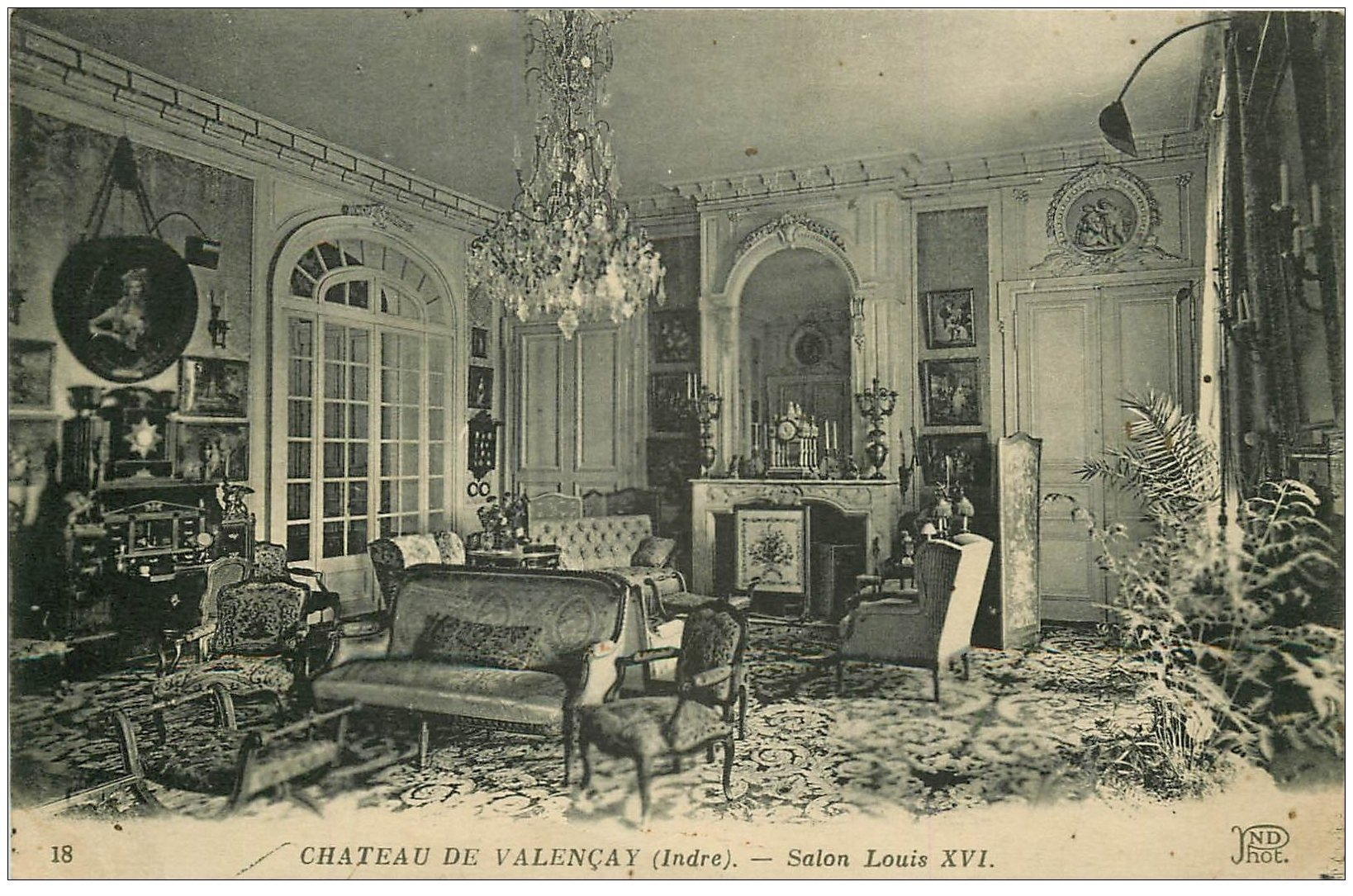 36 valencay ch teau salon louis xvi - Salon louis xvi ...