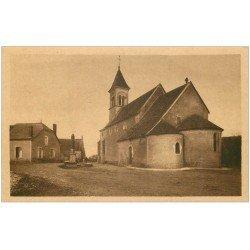 carte postale ancienne 36 VICQ. L'Eglise