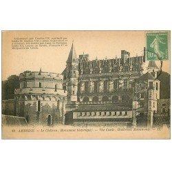 carte postale ancienne 37 AMBOISE. Chateau n°10
