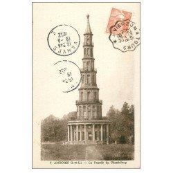 carte postale ancienne 37 AMBOISE. La Pagode de Chanteloup 1952