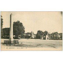 carte postale ancienne 37 AMBOISE. Sur le Mail 1928