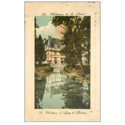 carte postale ancienne 37 AZAY-LE-RIDEAU. Château 1909 LL