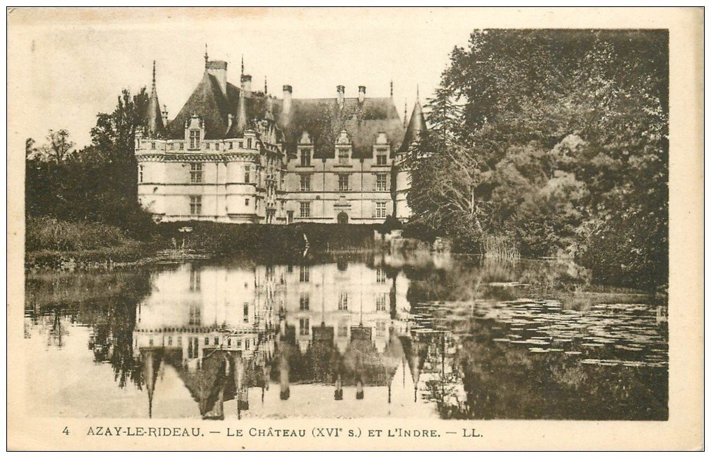 37 azay le rideau ch teau 1924 ll 4 - Restaurant les grottes azay le rideau 37 ...