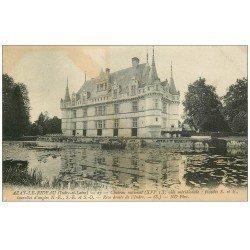 carte postale ancienne 37 AZAY-LE-RIDEAU. Château Aile 1911 ND Phot 27