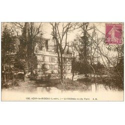 carte postale ancienne 37 AZAY-LE-RIDEAU. Château et Parc