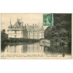 carte postale ancienne 37 AZAY-LE-RIDEAU. Château LL 80