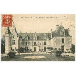 carte postale ancienne 37 AZAY-SUR-CHER. Château Beauvais 1908