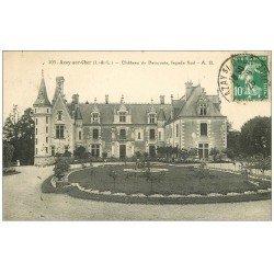 carte postale ancienne 37 AZAY-SUR-CHER. Château Beauvais 1925