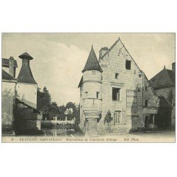 carte postale ancienne 37 BEAULIEU. Dépendance Abbaye