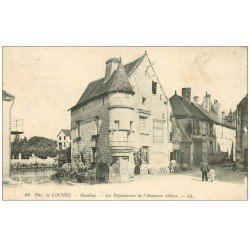 carte postale ancienne 37 BEAULIEU. Dépendances Abbaye 1922