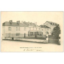carte postale ancienne 37 BEAUMONT-EN-VERON. Asile Saint-Joseph