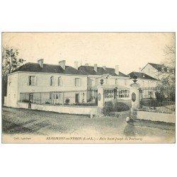 carte postale ancienne 37 BEAUMONT-EN-VERON. Asile Saint-Joseph Pontourny 1920